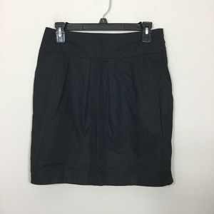 LOFT by Ann Taylor Size 4 Black Pockets Skirt